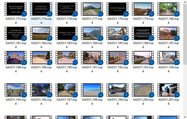 无版权风景视频素材打包138G(素材大多都是1080p) 音乐mv素材