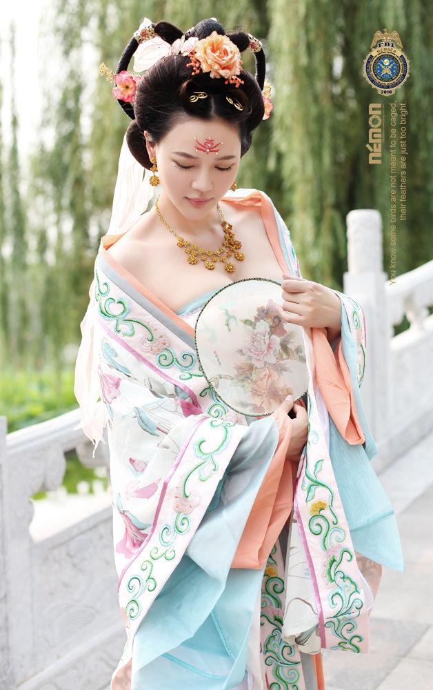 中国风汉服服饰10889张KK0912 图片素材